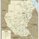 Figure 1. Map of Sudan. Courtesy: Norman B Leventhal Map Centre at the Boston Public Library, Creative Commons
