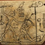 Figure 5 Early Dynastic smiting scene by King Den, British Museum. Photograph by CaptMondo